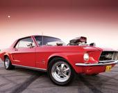 Классические мощные автомобили: Пазл 2