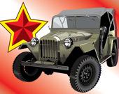 Пазл советские машины