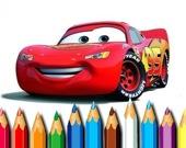 Машины - Раскраска