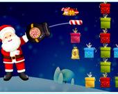 Санта стреляет подарками