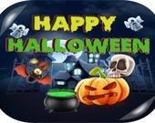 Счастливого Хэллоуина - 3 в ряд