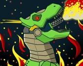 Мехаботы: собери динозавра