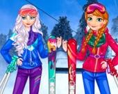 Принцессы на Лыжах