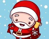 Время Рождества: Найди Различия