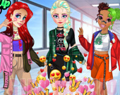 Модные девушки