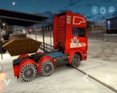 Поездка на грузовике по городу и бездорожью