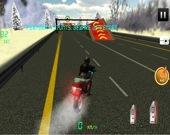 Скоростной мотогонщик: Трюки на байке по шоссе