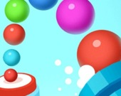 Заполни цветными шарами