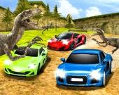 Гонки среди динозавров