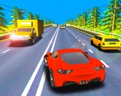 Гонка на скоростном шоссе