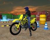 Трюки на мотоциклах-внедорожниках: симулятор парковки