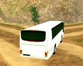 Симулятор автобуса в горной местности
