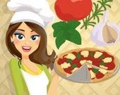 Готовим вместе с Эммой: Пицца Маргарита