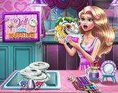 Мытье кукольной посуды