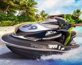 Гонки на лодках 3D: Водные мотоциклы