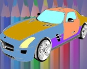 Раскраска машины