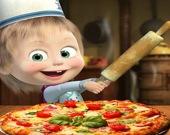 Маша и Медведь: пиццерия!