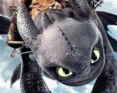 Коллекция пазлов: Как приручить дракона