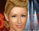 Настоящий макияж Кристины