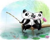 Пятнашки: Панда