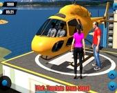Такси-вертолёт: Перевозка туристов