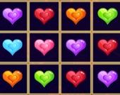 Сердца 3 в ряд