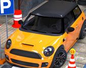 Современная автомобильная парковка 3Д