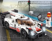 Гоночные автомобили Лего Пазл