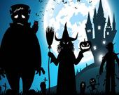 Сумасшедший Хэллоуин: игра на память