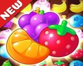 Мания фруктов 3 в ряд
