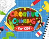 Креативная раскраска для детей