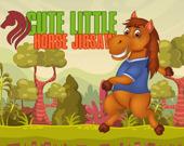 Пазл: Милая маленькая лошадь