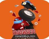 Опасная Дорожная Гоночная Игра 2D