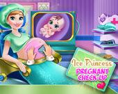 Осмотр беременной Ледяной принцессы