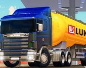 Симулятор грузовика с цистерной