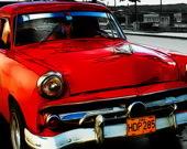Пазл Кубинские винтажные автомобили