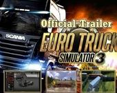 Водитель евро-грузовика