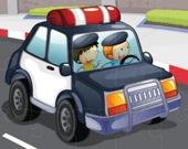 Полицейские машины - Пазл