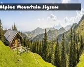 Альпийские горы - Пазл