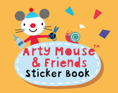 Мышка Арти: Книжка стикеров