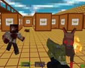 Пиксельный спецназ: зомби-выживание