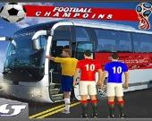 Симулятор автобуса футбольной команды