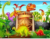 Динозавры Делюкс - Пазл