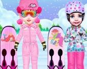 Малышка Тейлор - Наряды для лыж