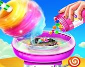 Магазин сладостей - Приготовь сахарную вату