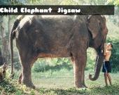 Слоненок - пазл