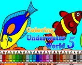 Раскраска: Подводный мир 5