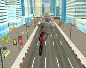 Поездка на велосипеде по городу