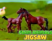 Пазл: Животные с фермы