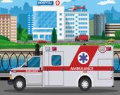 Машины скорой помощи: Найди различия
